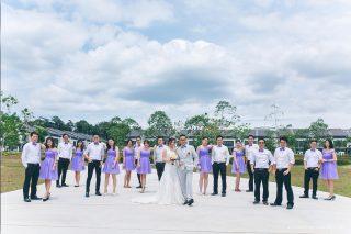 Actual Day Wedding Tze Kae Sin Yee